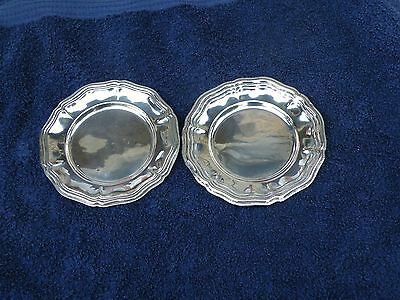 Pair Of 800 Silver Plates