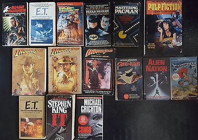 Movie Tie In Back To The Future III Superman Gremlins Batman Paperback Book Lot