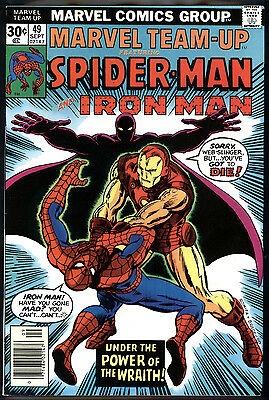 Marvel Team-Up #49 9.2 (NM-): Iron Man! Classic Early Bronze Age! $50 Value!