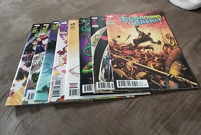 All New Guardians of the galaxy issues #1-10 + annual #1 Marvel Now 2.0 complete