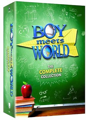 New Boy Meets World:The Complete Collection Season 1-7 (DVD, 22-Disc Set) Sealed