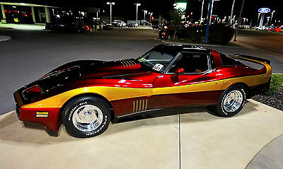 1980 Chevrolet Corvette  1980 C3 Custom Corvette Stingray Restomod Pro-Touring  Museum Condition