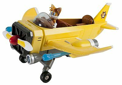 SONIC BOOM Tails' Plane with Tails Figure - Lights and Sounds