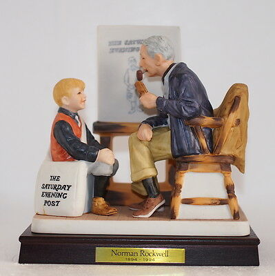 NRP-100 Norman Rockwell America Collection Ltd. Ed. Figure