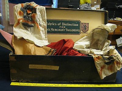 4 Antique Halloween Costumes Dated 1917- 4 masks,hats plus Princess Dress + more