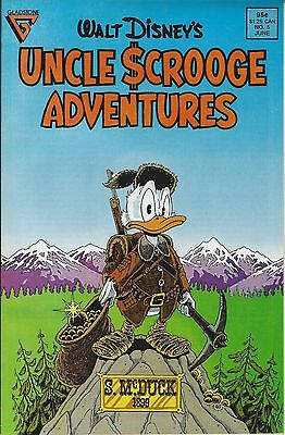 Gladstone's UNCLE SCROOGE ADVENTURES(6/88)-Issue #5-featuring DON ROSA Classic