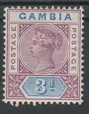 Gambia 1898 Qv Tablet 3D