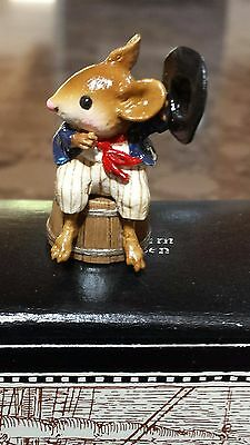 "Wee Forest Folk M-365 ""Johnny"" RETIRED Mint"