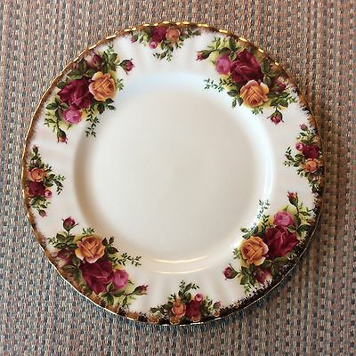 ''Old Country Roses''  By Royal Albert -- Bread & Butter Plate -10 Available....