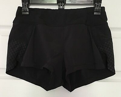 *Nearly New* Women's ATHLETA Running Shorts Size XS Black