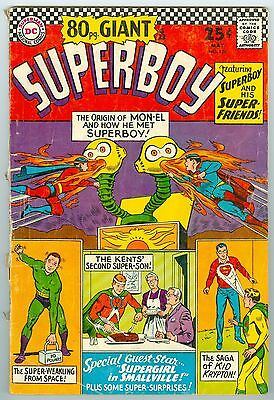 SUPERBOY 80 page GIANT # 129 MAY 1966 GOOD/VG
