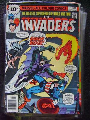 The Invaders vol 1 no  7 (July 1976) -  bagged and boarded.