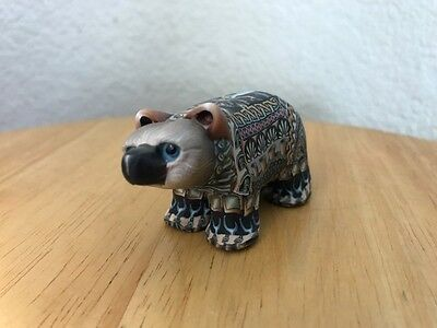bear unique out of clay