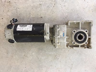 Transtecno 24volt rotary actuator with gear reduction