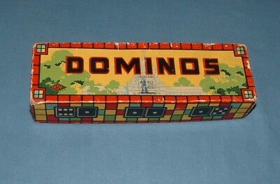Coca Cola Dominos Game - 1950's - Good Condition