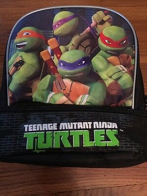 Nickelodeon Teenage Mutant Ninja Turtles School Insulated Lunch Box Tote Bag