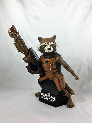 GUARDIANS OF THE GALAXY - ROCKET RACOON - Coin Bank - Bust - Statue Marvel - slf