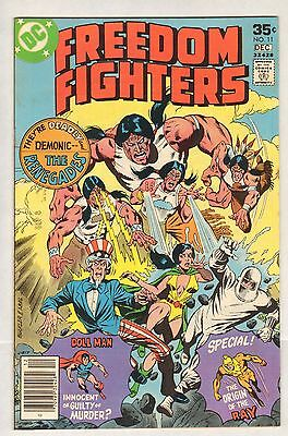 Freedom Fighters #11 (FN/VF) (1977, DC) [b]