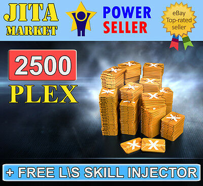EVE Online PLEX x2500 Pack   Maximum FAST   Absolutely SAFE   Skill Injector ISK