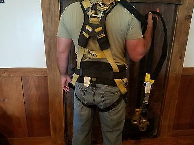 Reliance Iron Man Positioning Safety Harness WITH Shock Absorbing Lanyard