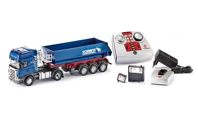 Siku 6725 Scania R620 with Halfpipe Tipper Trailer R/C (EU Version)  1:32