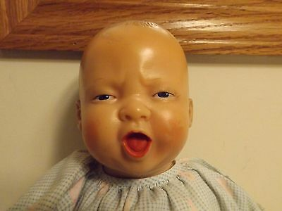 Vintage Squalling Baby So Ugly It's Cute!! Horsman Ideal