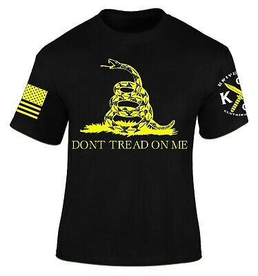 Don't Tread on Me T-Shirt I Knives Out I Veteran I Military I Flag I Patriot