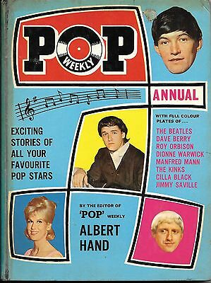 Pop Weekly Annual 1966 - 104 Page Hardback