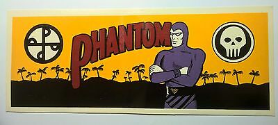 Phantom Comic Water Sticker - Transfer - Decal - Collectable