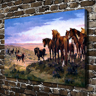 Animal Horse Paintings HD Print on Canvas Home Decor Wall Art Pictures Poster