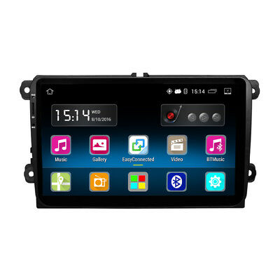 "For VW Jetta/Passat/Polo/Golf/Skoda 9"" HD Android Auto Car Stereo GPS Player"