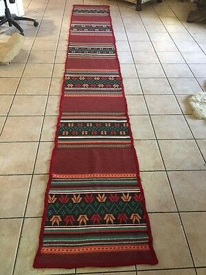 antique Wool Rug 19th Stairs Or Entry rugs 4.11 Metres Tall 630 Cm Wide