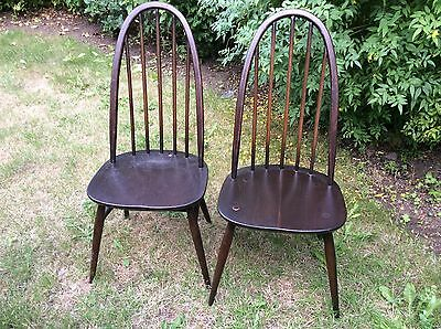 ercol chairs x 6