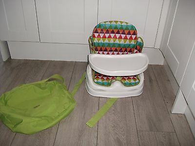 Mamas & Papas Baby Feeding Highchair Portable Travel Booster Seat Chair Pippop