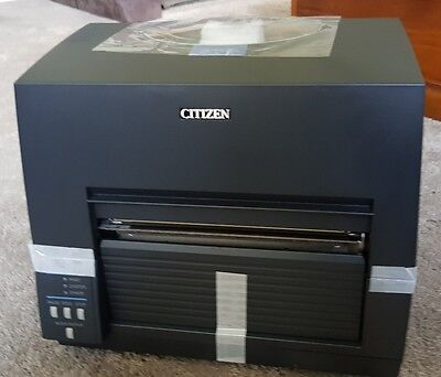 Citizen CL-S6621 Thermal Transfer Barcode & Label Printer