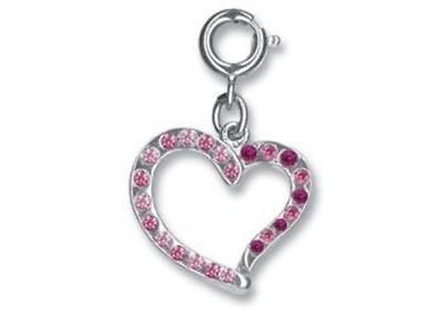NEW Charm it - Swirl Heart Charm