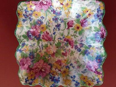 VINTAGE MIDWINTER ENGLAND Chintz Dish V-good Condition ALL OVER FLORAL