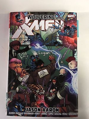 Marvel Comics: Wolverine and the Xmen by Jason AAron 1st edition June 2014