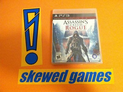 Assassins Creed Rogue - Brand NEW Factory SEALED! - PS3 PlayStation 3 Sony NEW