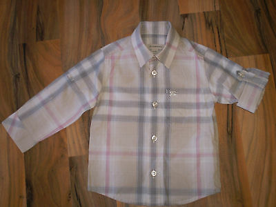 Burberry Baby Boys Shirt Size 18 Months