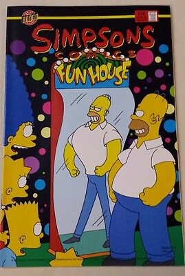 Simpsons Comics #18 (Bongo Comics - 1996) - TWO comics in one!