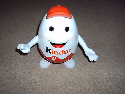 "KINDER Baseball Cap 10"" Store Display Egg Man Moveable Arms Free Shipping"
