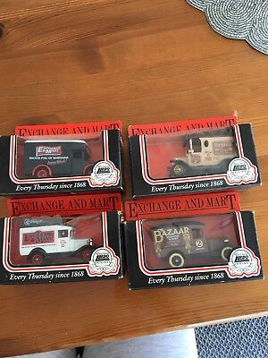Exchange and Mart Model cars set x4 boxed