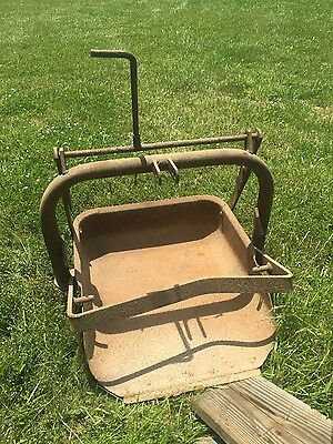 Ford tractor 3pt 3 point hitch Dearborn  slip scoop bucket