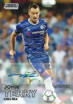 2016-17 Topps Stadium Club Premier League 'Topps Certified Autograph Issue'