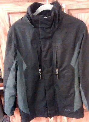 CB sport boys winter jacket black size 10/12