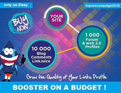 Make Link Pyramid ,1000 good domain Authority Profiles + 10k Blog Comment .SEO