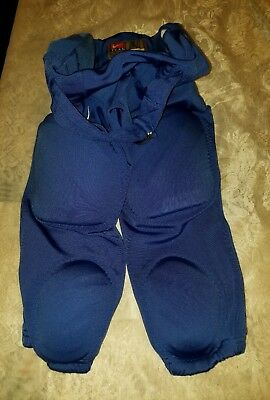 Nike Size Youth Large Padded Football Pants Blue