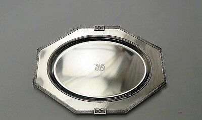 1917 Large Gorham Sterling Silver Lansdowne Serving Tray
