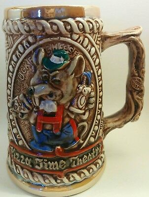 VINTAGE 1980's CHUCK E. CHEESE PIZZA TIME THEATER BEER STEIN MUG CUP